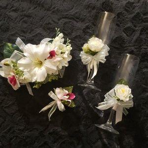 Handmade wedding set....